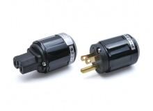 Oyaide C-029 / P-029  IEC尾插/美式电源插头