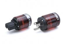 Oyaide C-046 / P-046 IEC尾插/美式电源插头